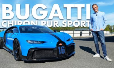 Bugatti Chiron Pur Sport-on-board ride