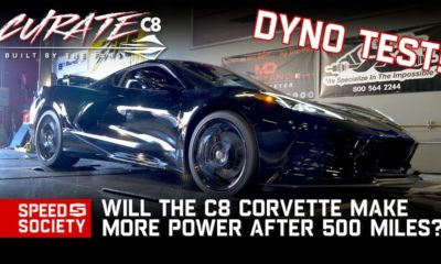 Chevrolet Corvette C8-break-in-dyno