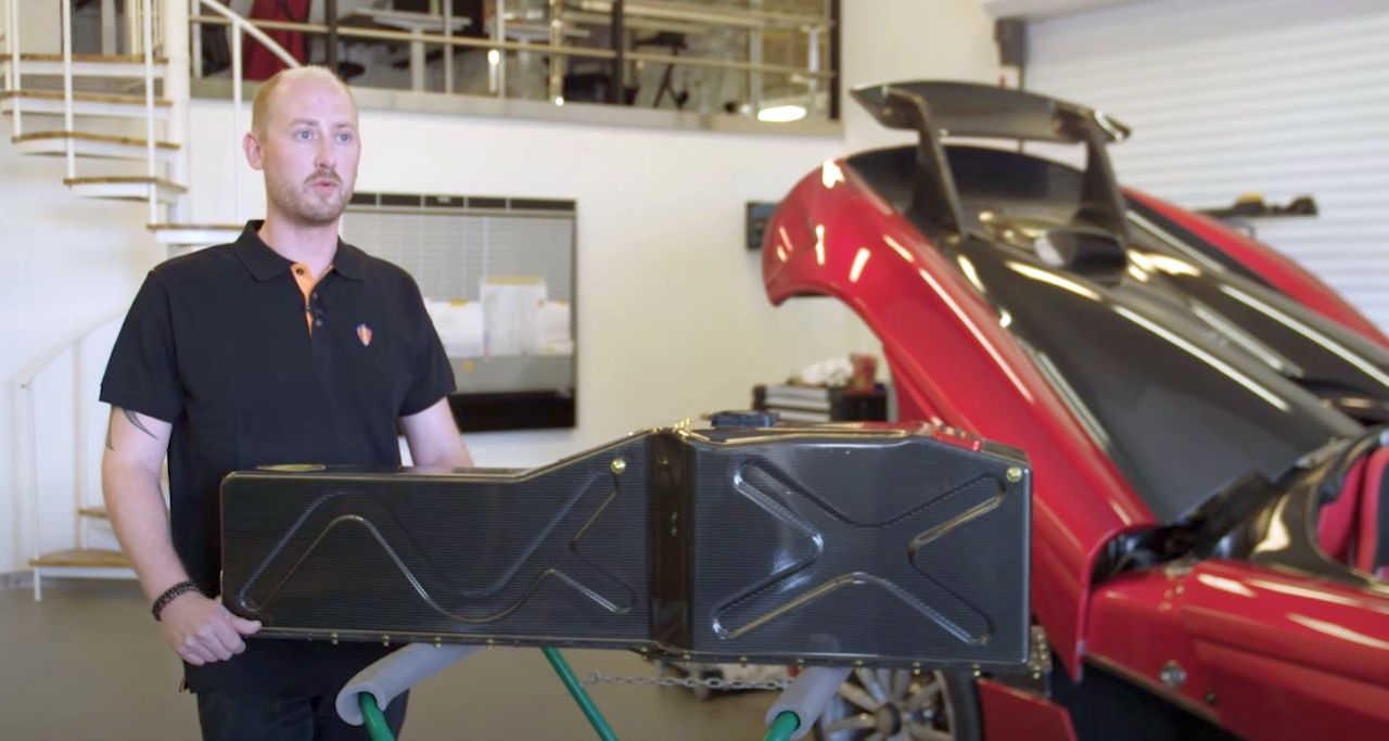 Koenigsegg Regera-battery pack