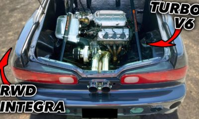 Mid-engine Honda Integra-Texas Steet Racing