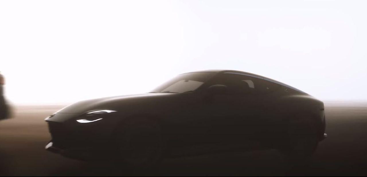 Nissan 400Z Teaser-1