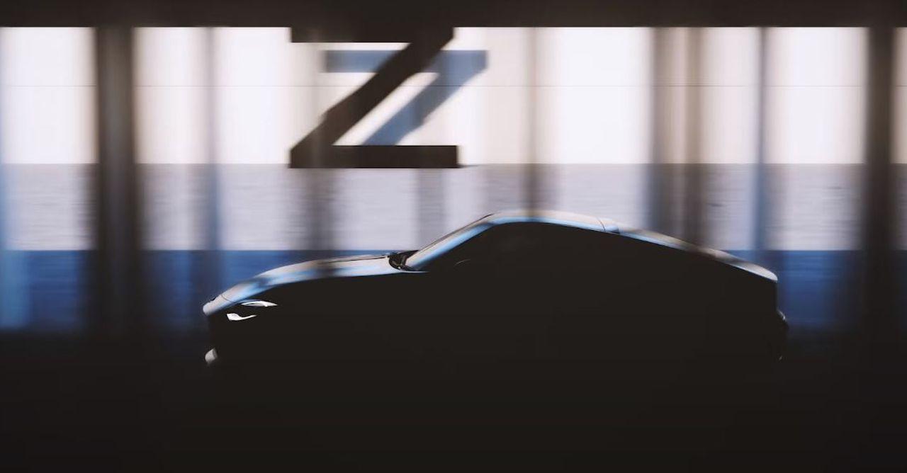 Nissan 400Z Teaser-2