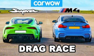 Tuned Supra vs BMW M4