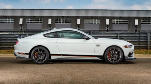 2021 Ford Mustang Mach 1-4