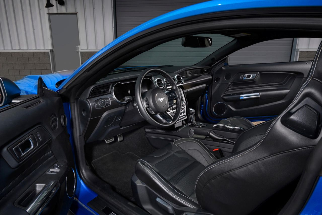 2021 Ford Mustang Mach 1-5
