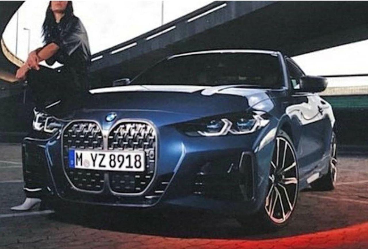BMW 4 Series Leaked-1