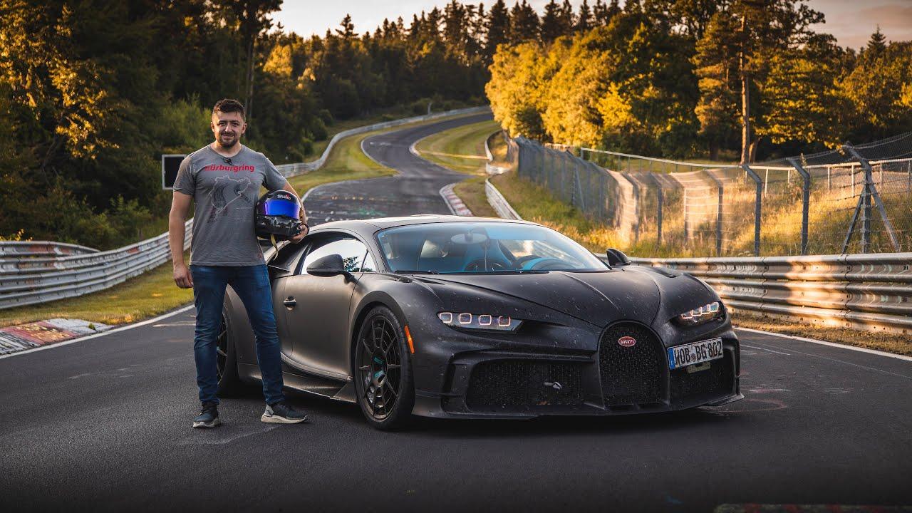 Bugatti Chiron Pur Sport-Nurburgring