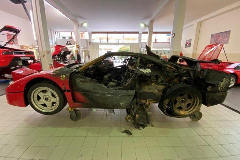 Ferrari F40 Monte Carlo-Fire-Restoration-2