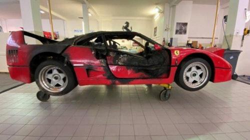Ferrari F40 Monte Carlo-Fire-Restoration-4
