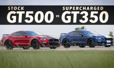 Hennessey HPE850 Mustang GT350 vs GT500