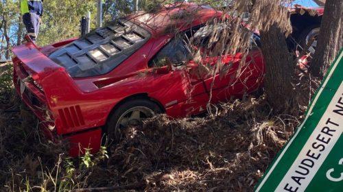 Ferrari F40-Australia-Crash-4