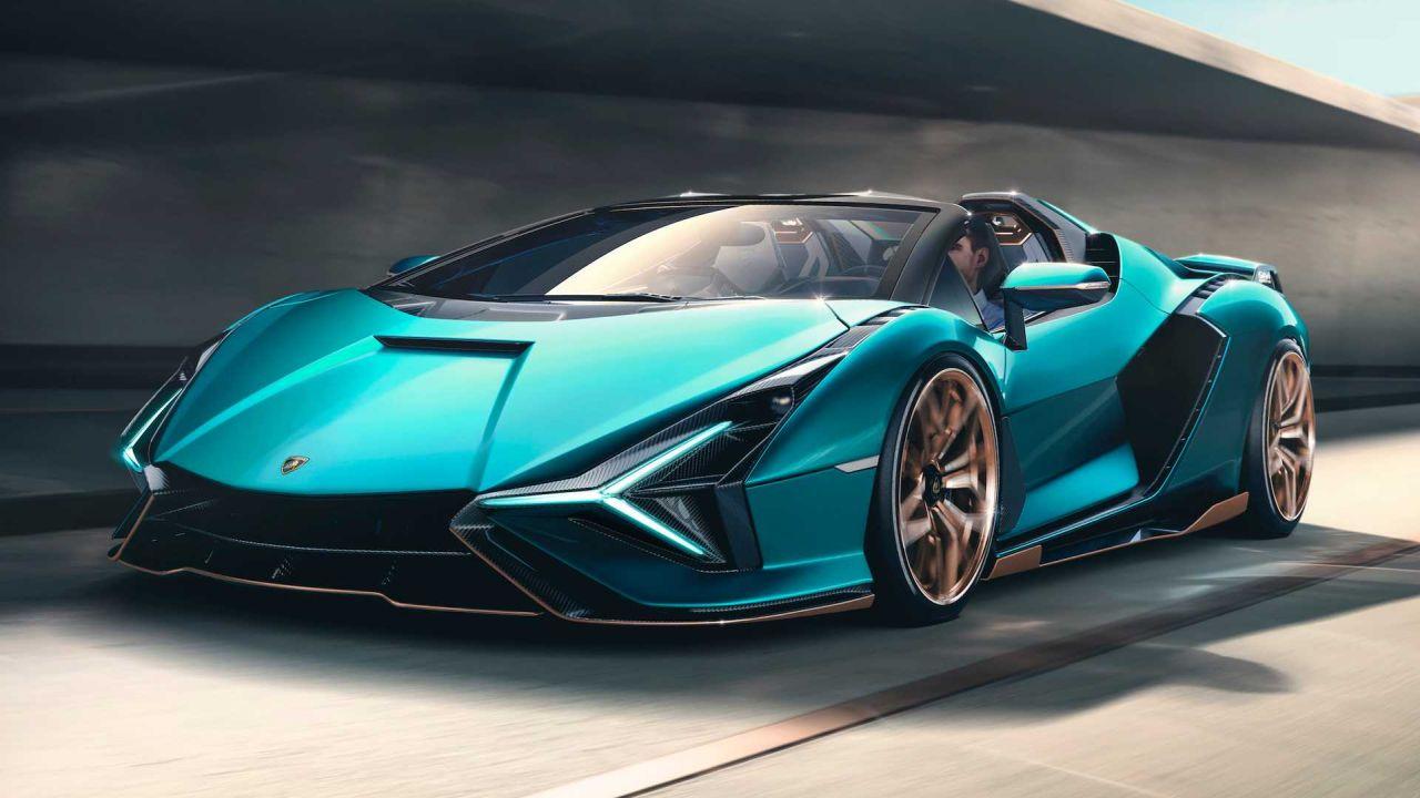Lamborghini Sian Roadster-5
