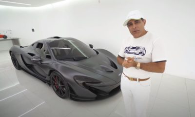 McLaren P1-electric mode acceleration