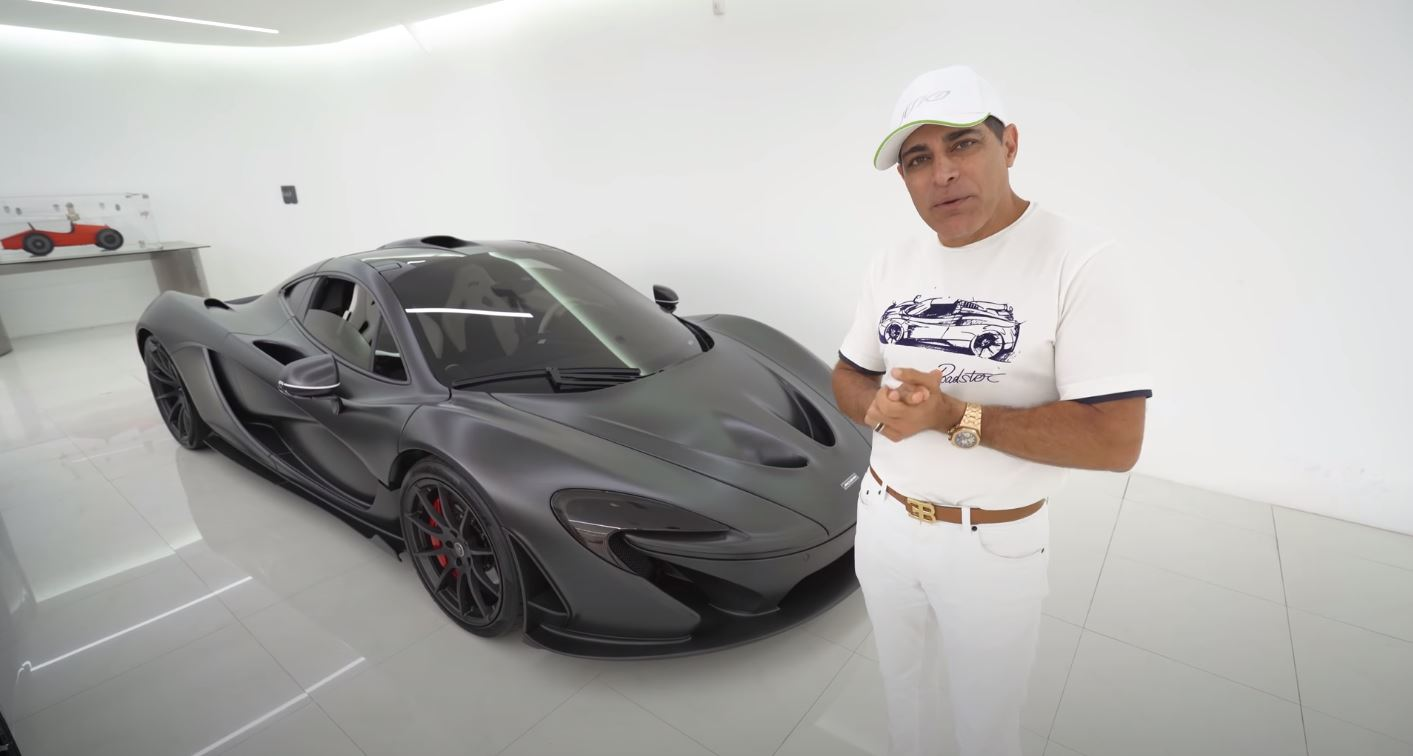 McLaren P1-electric mode acceleration