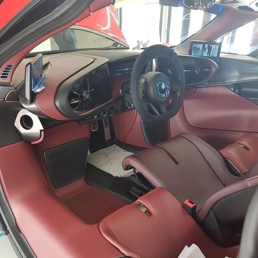 Rocket Red McLaren Speedtail-Singapore-1