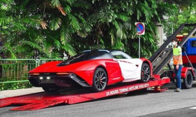 Rocket Red McLaren Speedtail-Singapore-2