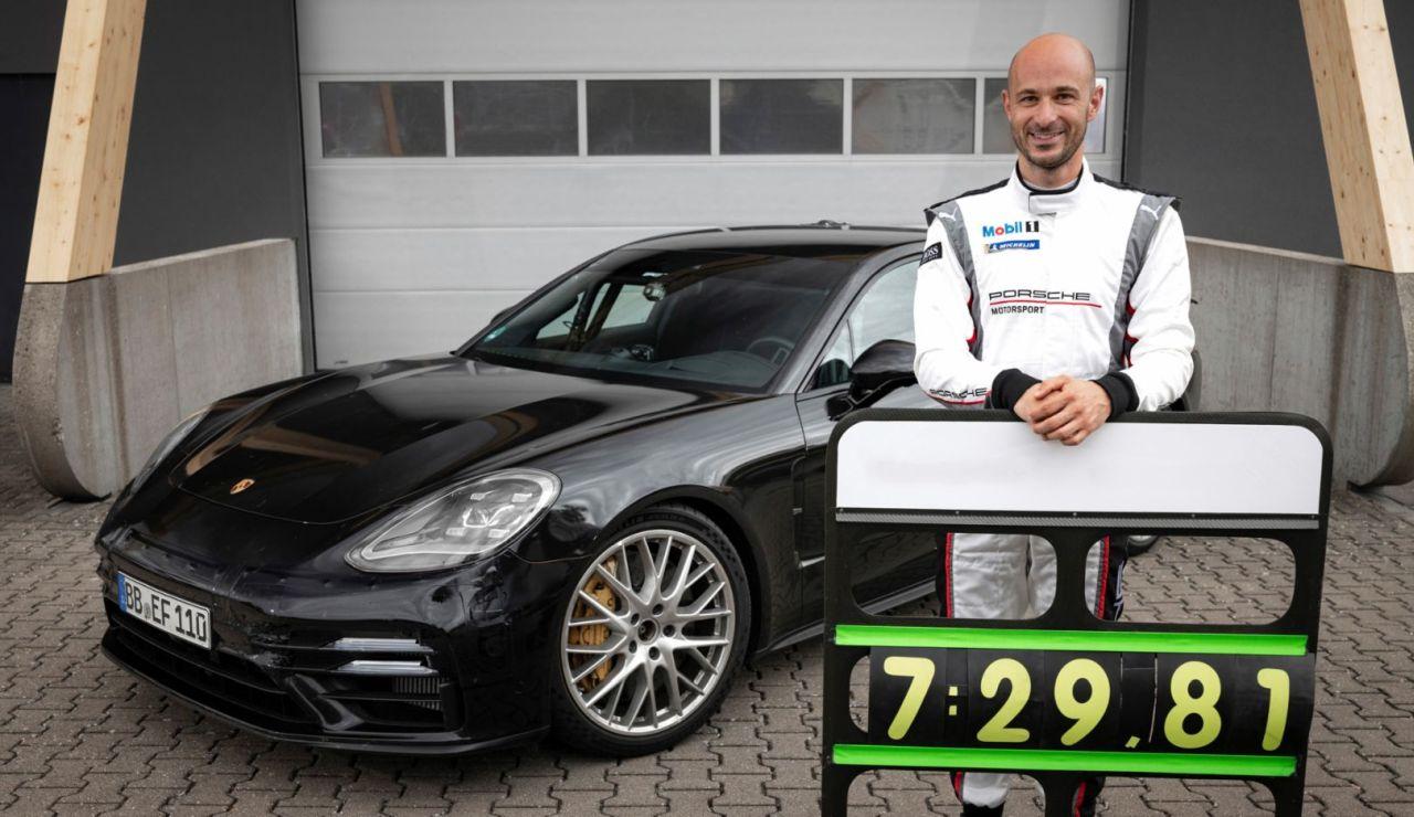 2021 Porsche Panamera Nurburgring lap record