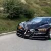 Bugatti Chiron-crash-Gotthard-pass-Swiss-1