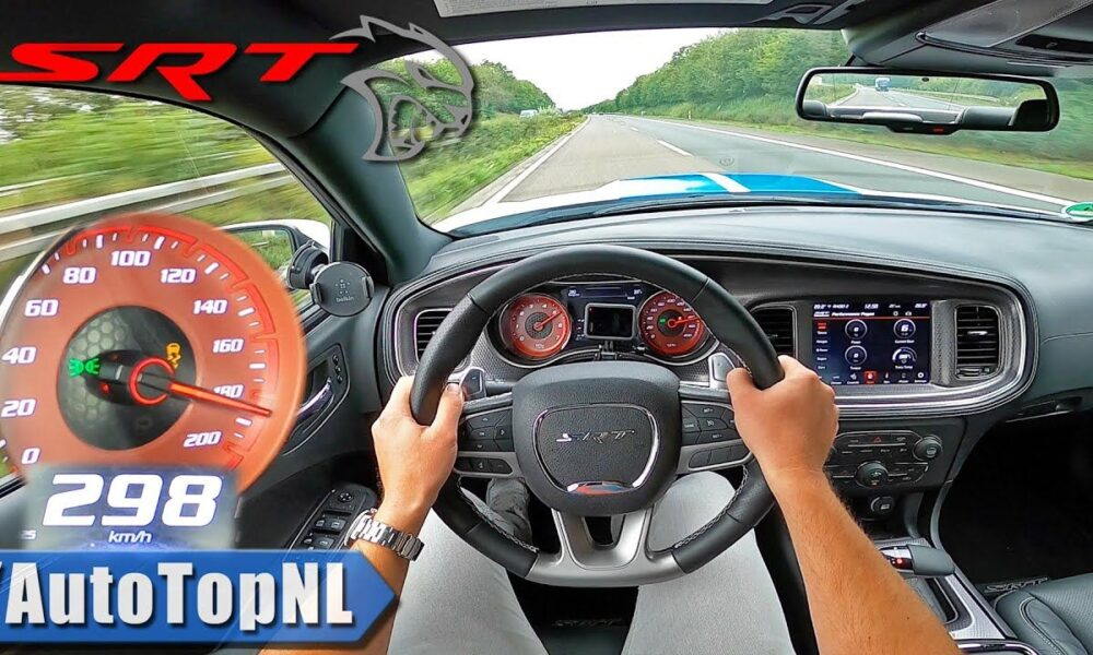 Dodge Charger Hellcat-top-speed-autobahn