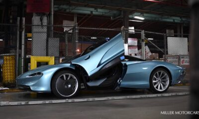 First US-spec McLaren Speedtail Blue Delivery