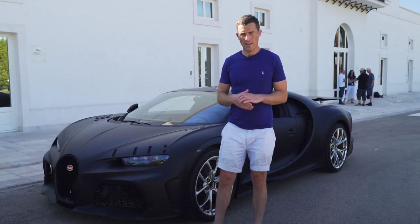 Matt Watson Gets A Ride In A Bugatti Chiron Super Sport 300 The Supercar Blog