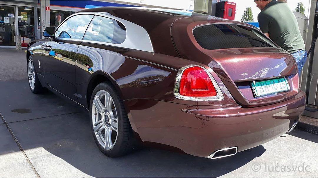 Rolls Royce Shooting Brake spy shots-1