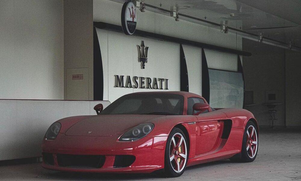 Zanzibar Red Porsche Carrera GT-China-1