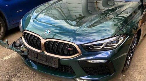 BMW M8 Gran Coupe First Edition 8 of 8-Crash-2