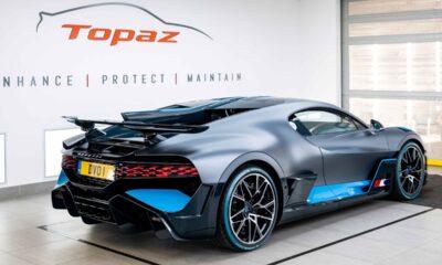 Bugatti Divo PPF Topaz