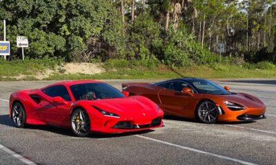 Ferrari F8 Tributo vs McLaren 720S