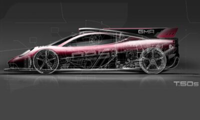 GMA T50S Track Speed race car-teaser