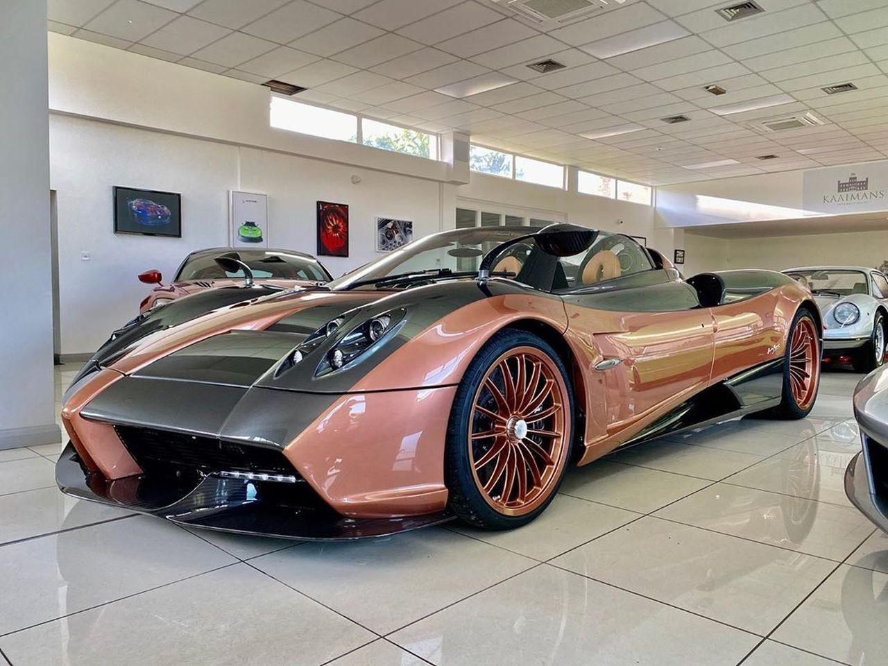 Kurota Copper Pagani Huayra Roadster-1
