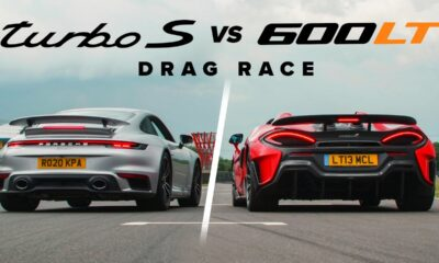 McLaren 600LT Spider vs Porsche 911 Turbo S