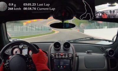 Pagani Huayra BC Roadster-Spa Francorchamps-Lap Record