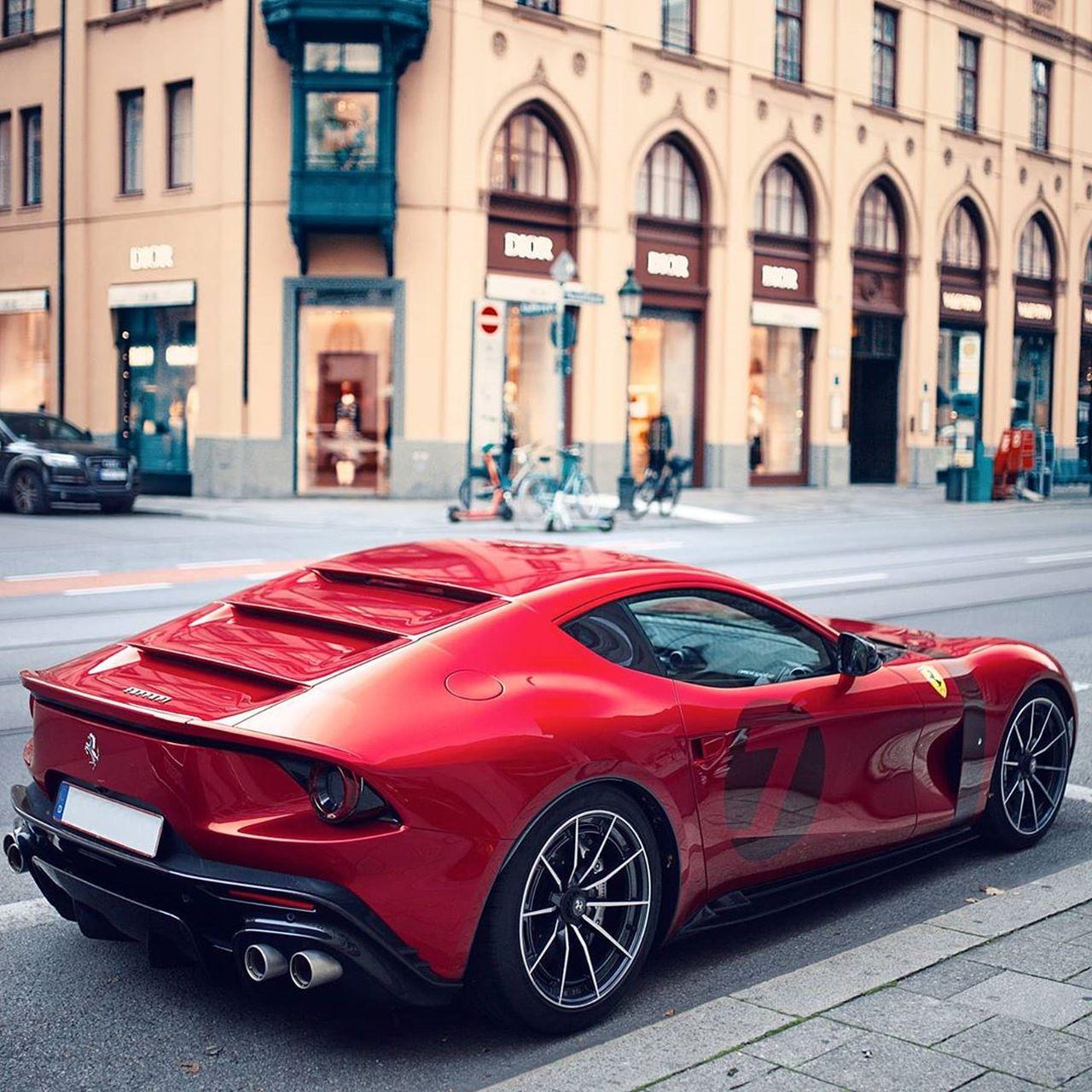 One Off Ferrari Omologata Spotted In Munich The Supercar Blog