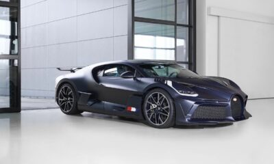 Bugatti Divo-Matte Blue Carbon-Miller Motorcars