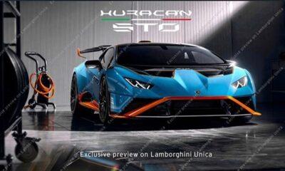 Lamborghini Huracan STO leaked image-1