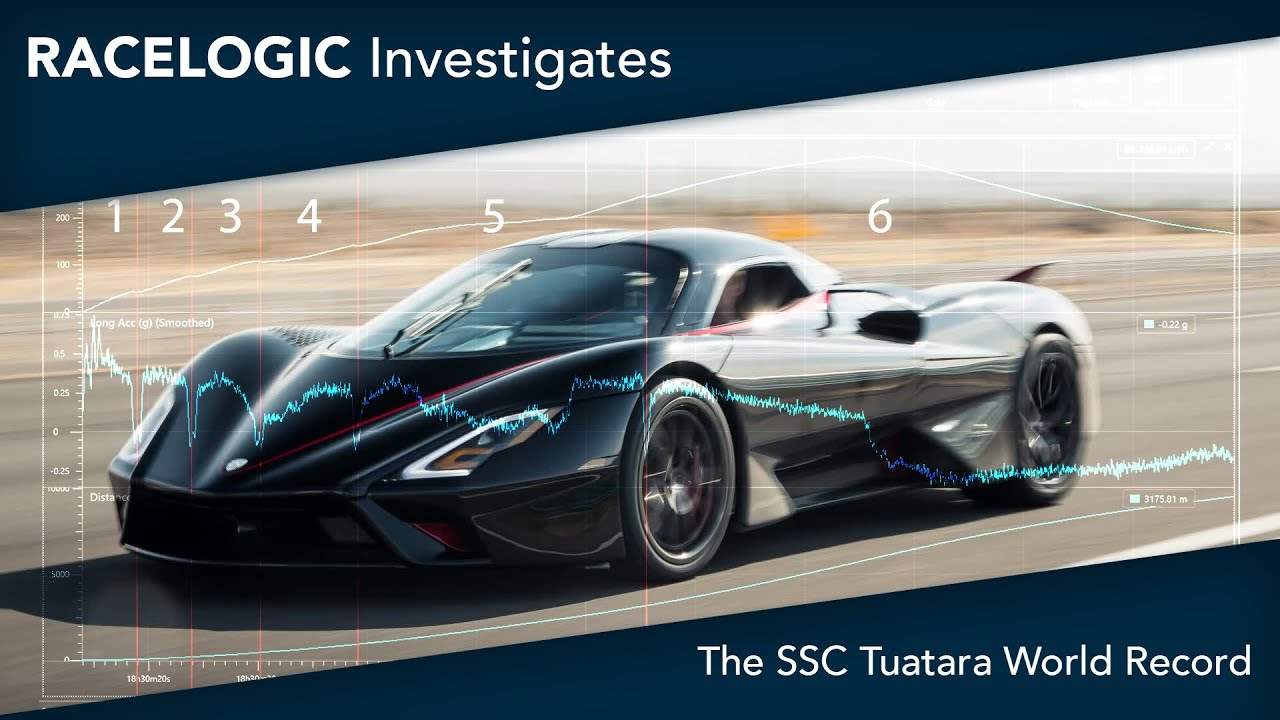 SSC Tuatara-Top Speed-Analysis Racelogic