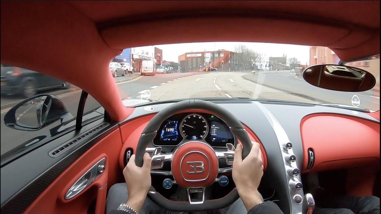 Bugatti Chiron-Birmingham-POV Drive