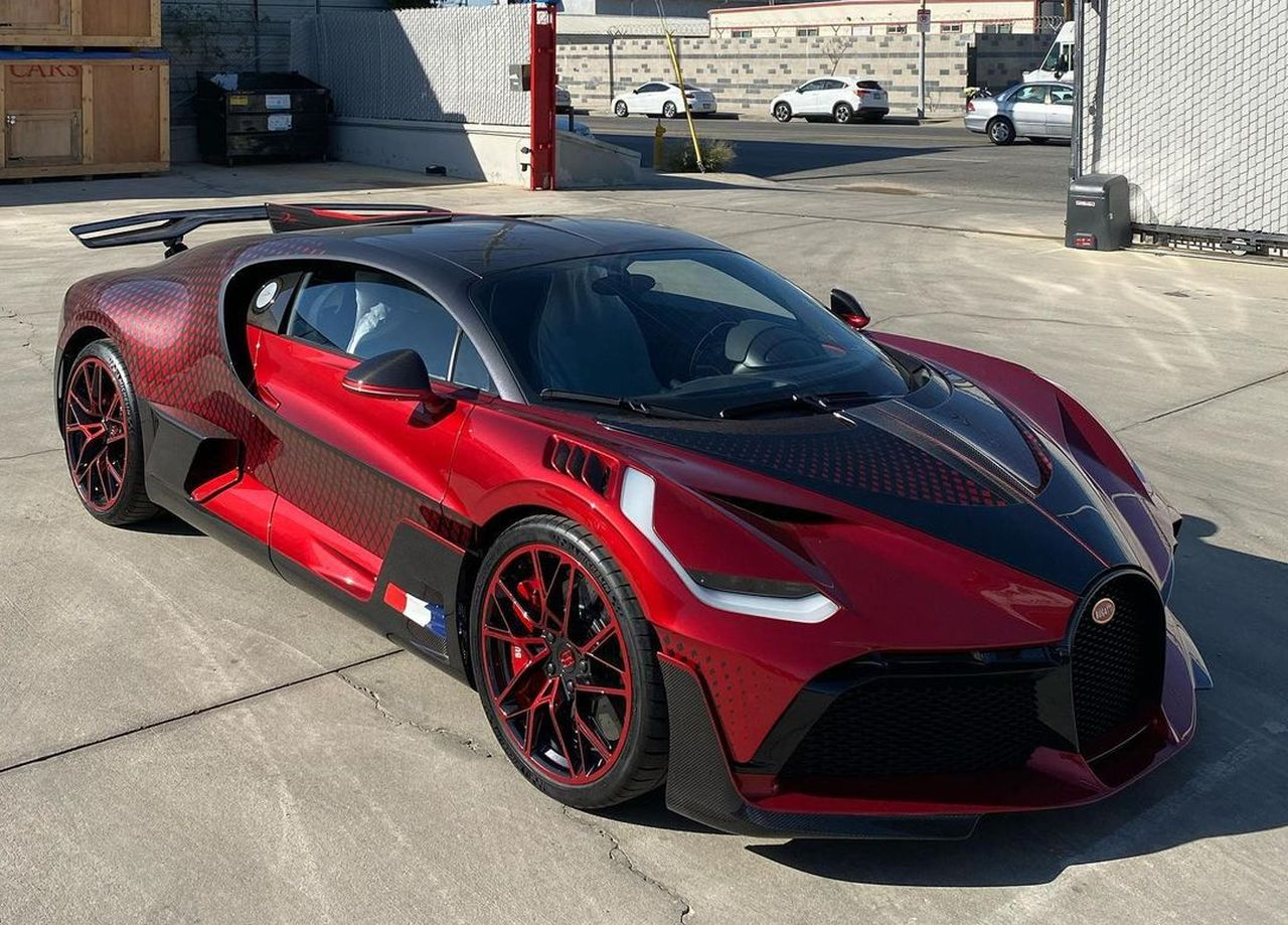 This Has To Be The Sickest Looking Bugatti Divo In The World The Supercar Blog