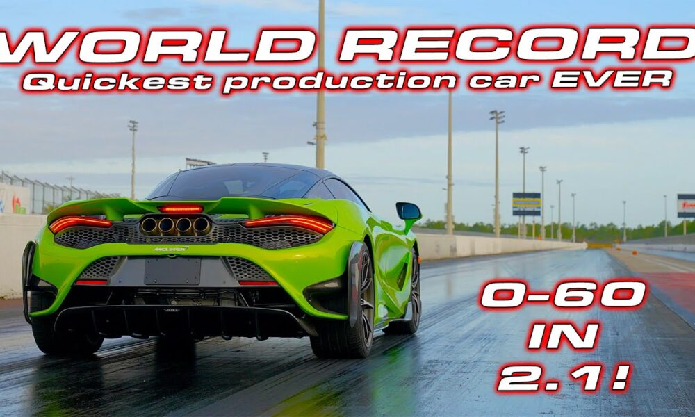 McLaren 765LT-quarter-mile-dragtimes