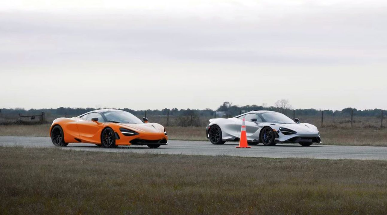 McLaren 765LT vs 720S-drag-race