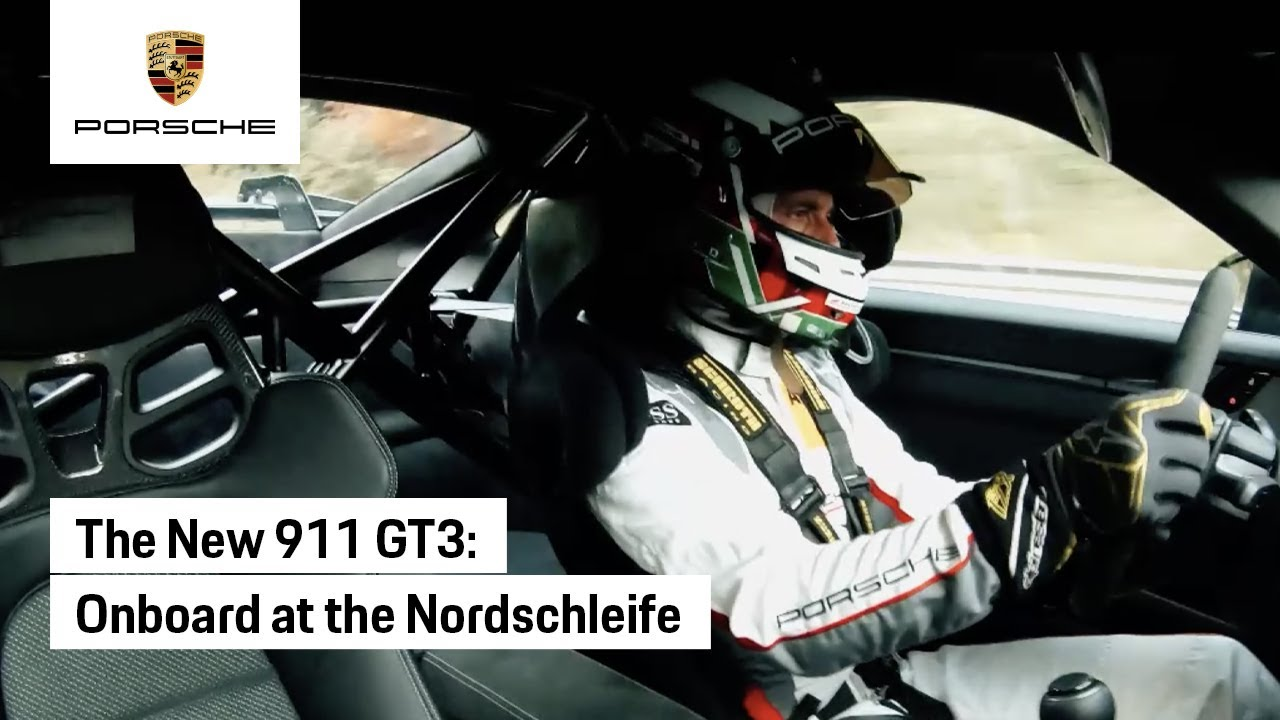 2021 Porsche 911 GT3 Nurburgring Lap Time