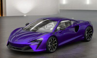 McLaren Artura Lantana Purple Spec-1