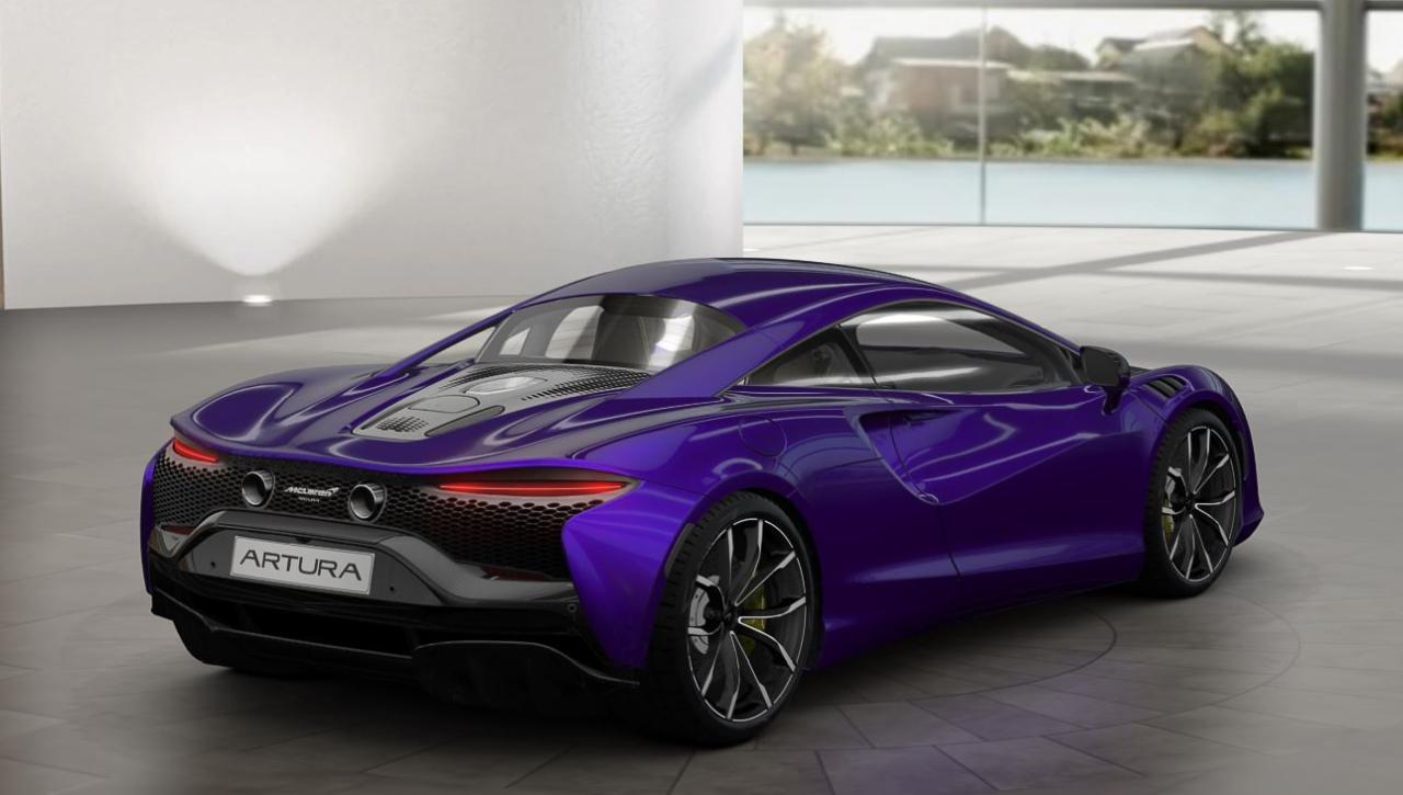 McLaren Artura Lantana Purple Spec-2