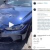 2021 BMW M3 Competition-crash