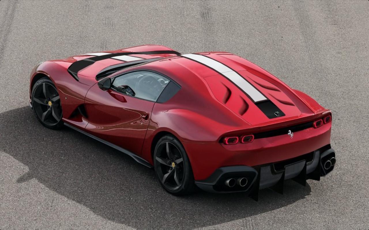 Ferrari 812 GTO Versione Speciale Rendering