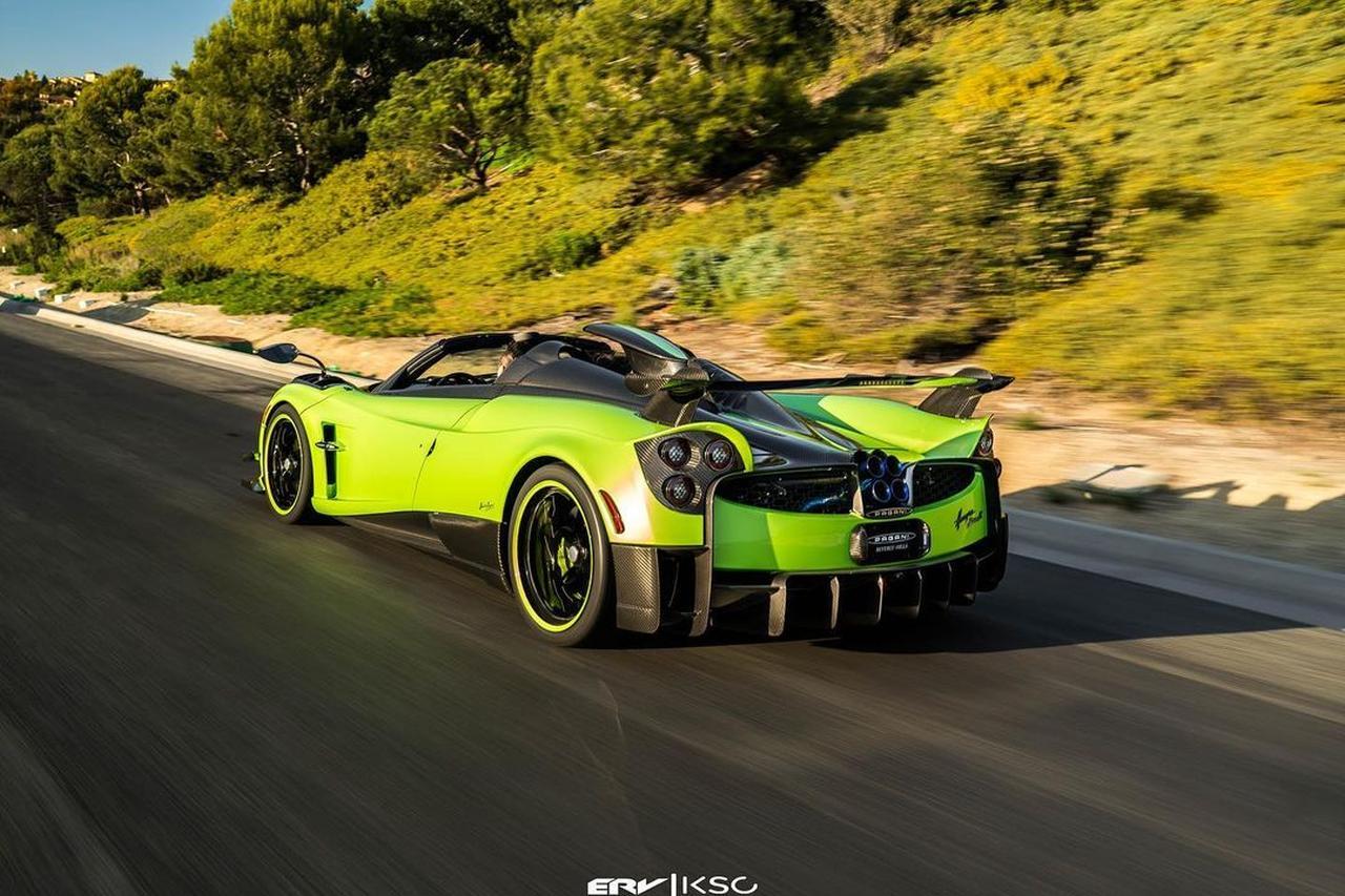 Green-Carbon-Pagani Huayra Roadster BC-US-2