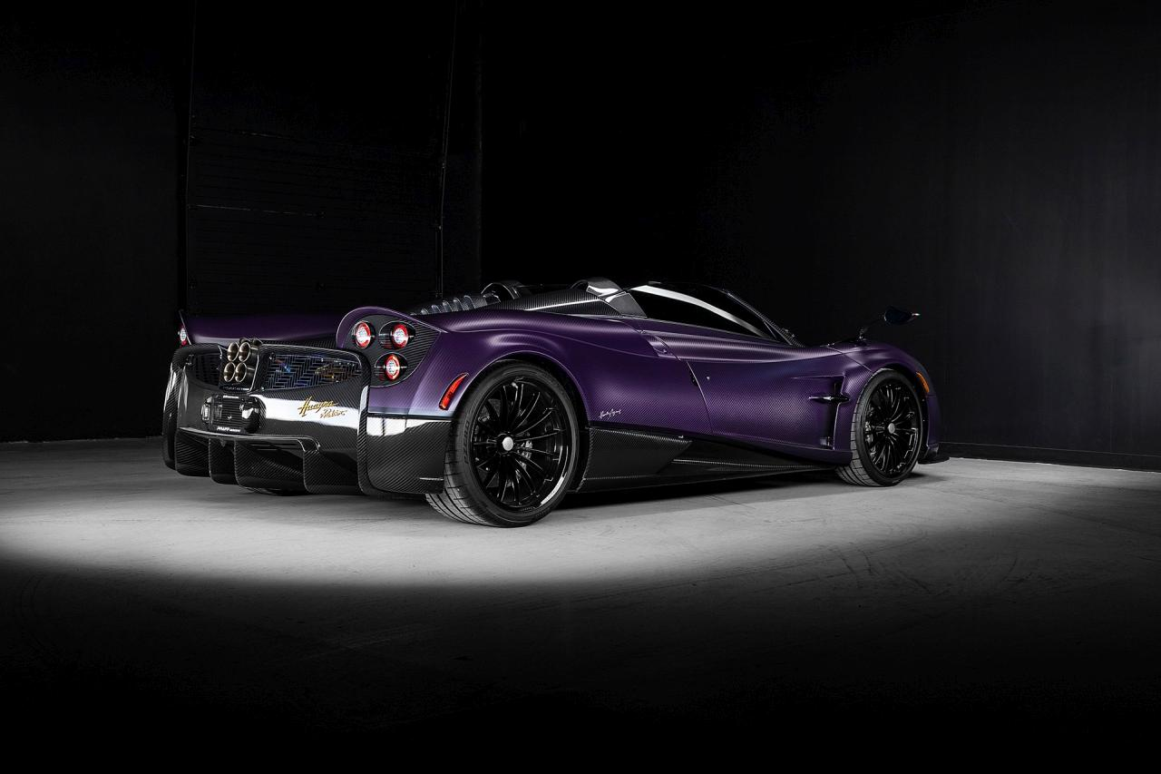 Purple Carbon Pagani Huayra Roadster-for-sale-Canada-2