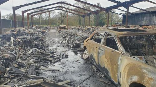 Supercar Storage Fire-UK-2